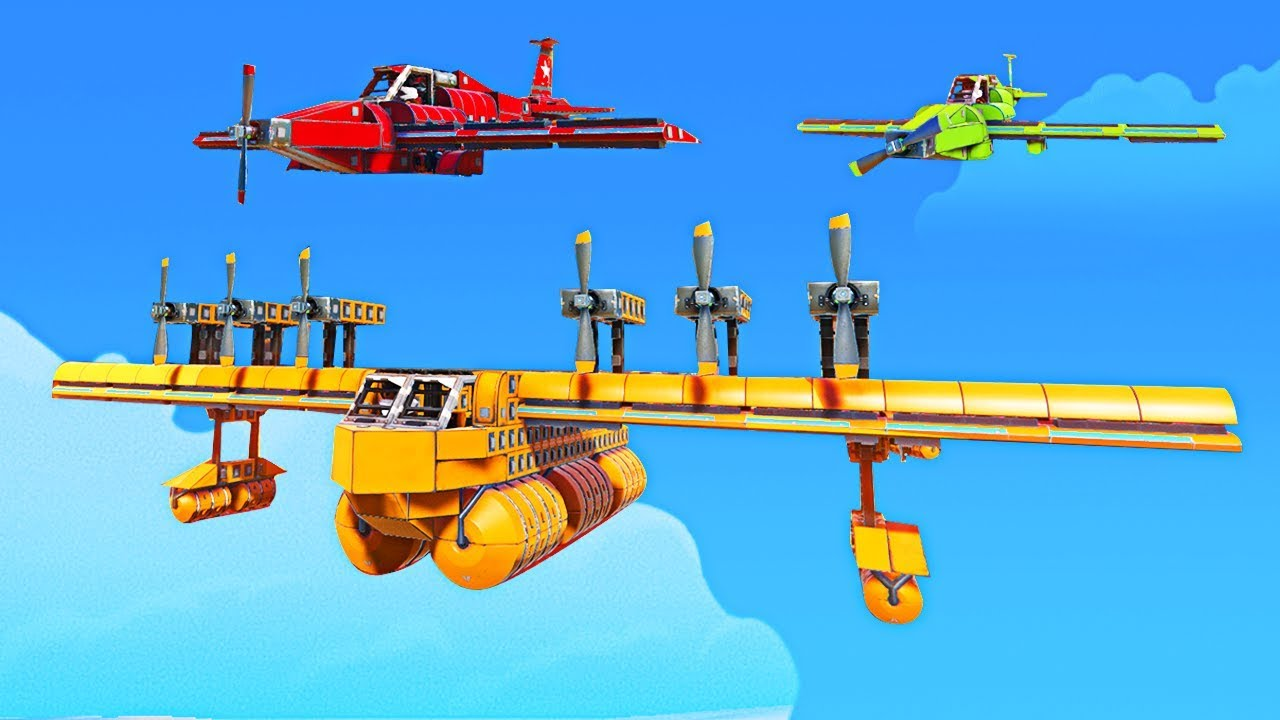 WHO HAS THE BEST BATTLE PLANE CHALLENGE - Trailmakers