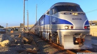 Amtrak & Metrolink Trains in Laguna Niguel (October 13th, 2013)