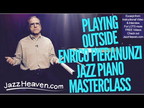 "Enrico Pieranunzi ""Playing ""Outside"" Jazz Piano Lesson JazzHeaven.com Excerpt"