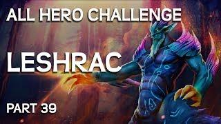 Bütün Kahramanlarla Mücadele Challenge Part # 39 - Leshrac Gameplay.