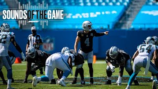 Raiders Week 1 Victory vs. Panthers | Sounds of the Game | Las Vegas Raiders