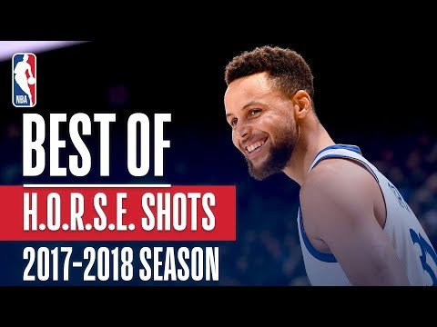 Best H-O-R-S-E Shots: 2017-2018 NBA Season