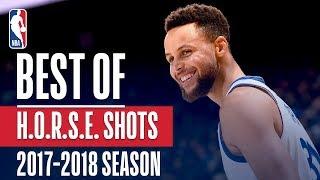 Best H-O-R-S-E Shots: 2017-2018 NBA Season