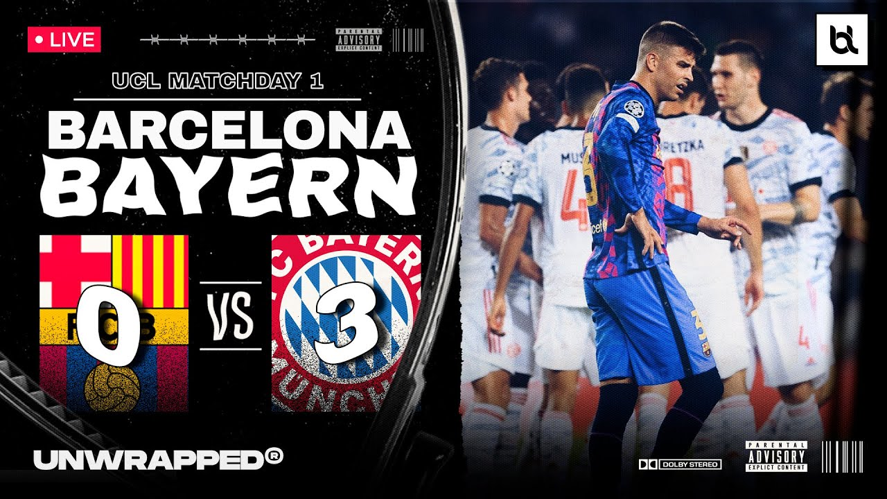Barcelona vs. Bayern Munich - Football Match Report - September ...