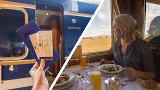 One of Flying The Nest's most viewed videos: ABOARD THE WORLDS MOST LUXURIOUS TRAIN - BLUE TRAIN SA