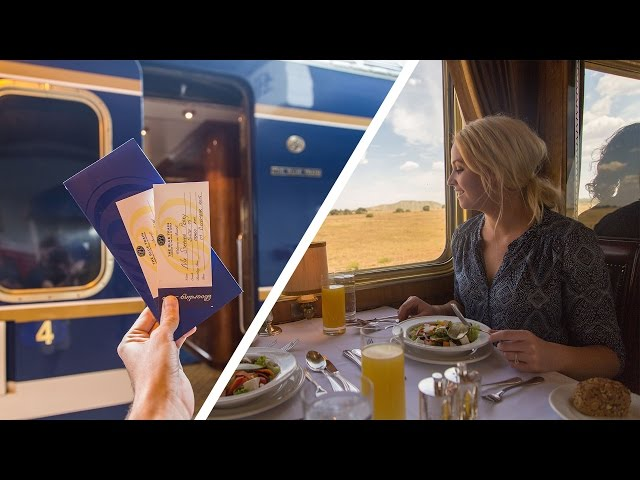 ABOARD THE WORLDS MOST LUXURIOUS TRAIN - BLUE TRAIN SA