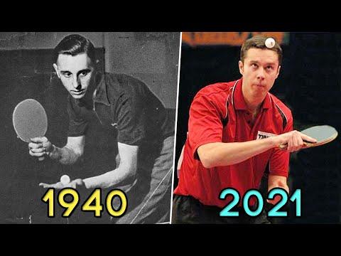 Download Table Tennis Serve Evolution 1940-2021 [HD]