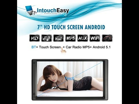 Auto Radio Android 5 1Mirror Link USB Micro SD GPS WIFI BT M