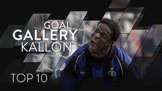 MOHAMED KALLON   INTER TOP 10 GOALS Goal Gallery 🇸🇱🖤💙