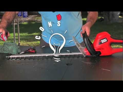 Cuidado y mantenimiento del cortasetos