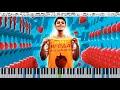 ХАБИБ - Ягода малинка (кавер на пианино + ноты) видео