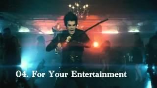 My Top 10 Adam Lambert Songs (HD)