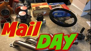 Mail Day ***Open Boxing Car Parts***