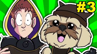 TOBUSCUS ANIMATED ADVENTURES WIZARDS #11 - PUPPY CANNON