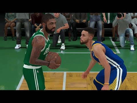 Game of The Year? ... NBA 2K18 Gameplay Boston Celtics vs Golden State Warriors Gameday Simulation