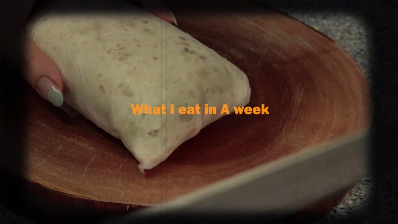 오랜만에 돌아온 What I ate in a WEEK/ 치킨또띠아랩/ 참치또띠아/ 두부샐러드/두부청경채덮밥/고구마밥/치킨루꼴라샌드위치