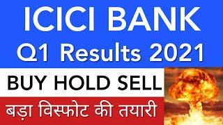 ICICI BANK SHARE LATEST NEWS • ICICI BANK Q1 RESULTS 2021 • SHARE MARKET LATEST NEWS TODAY• ANALYSIS