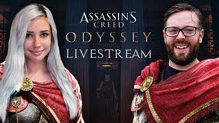 Assassin's Creed: Odyssey Launch Day Livestream with Alanah Pearce and Greg Miller
