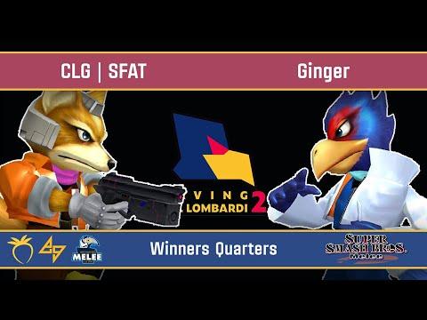 Saving Mr. Lombardi 2 - CLG | SFAT (Fox) VS Ginger (Falco) - SSBM - Winners Quarters
