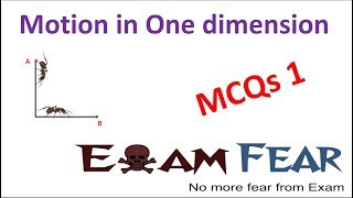 NEET Physics Motion in One Dimension : Multiple Choice Previous Years Questions MCQs 1