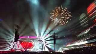 Grateful Dead Fare Thee Well- July 4th Fireworks- Soldier Field