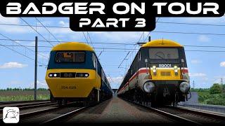 Badger on Tour! Part 3 | BR Class 89 | East Coast Main Line