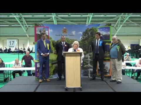 Tyneside North - General Election Declaration