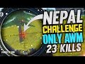 AWM Challenge Accepted 23 Kills by Nepal - Garena Free Fire- Total Gaming