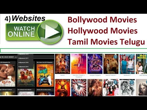 4 Websites To Watch Movies Online Bollywood Hollywood Hindi Dubbed | Vicxacle XR