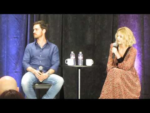 OUAT San Francisco 2017 Colin O'Donoghue and Jennifer Morrison GOLD Panel