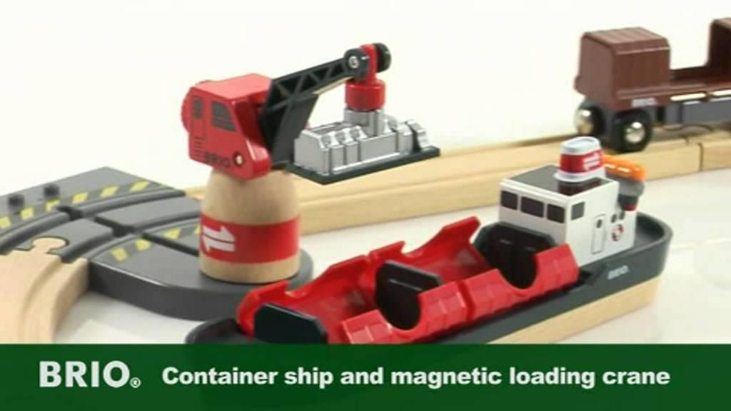 Brio World 33061 Cargo Harbour Set