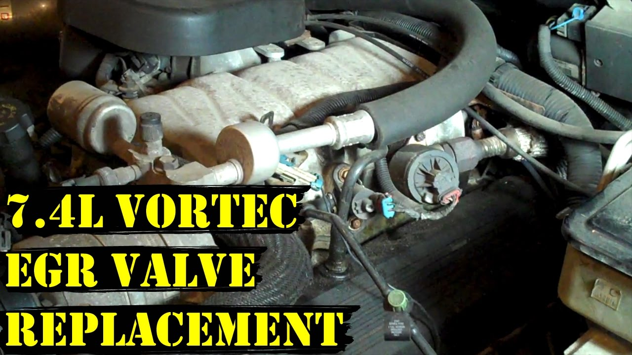 How To Change Egr Valve On 7 4l Vortec Chevy Engine Step By Guide