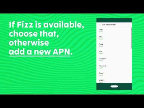 APN | Network Settings | Fizz