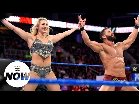 """""""Robe Warriors"""" look glorious on WWE Mixed Match Challenge: WWE Now"""
