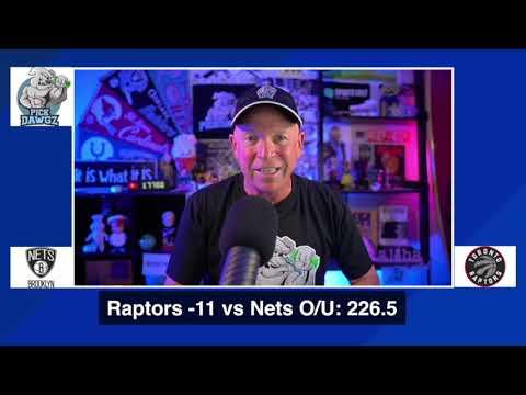 Toronto Raptors vs Brooklyn Nets 8/19/20 Free NBA Pick and Prediction NBA Betting Tips