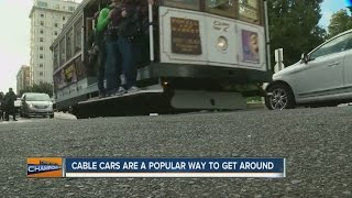 Go for a ride on a San Francisco cable car