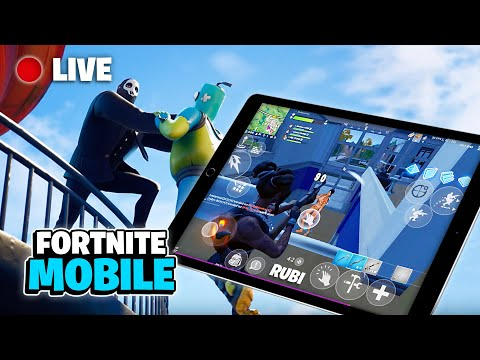 🔴 Fortnite Mobile Live Stream / 1337+ Wins 😏 / iPad 4 finger Claw (Season 2 tips & Gameplay) from YouTube · Duration:  4 hours 27 minutes 58 seconds