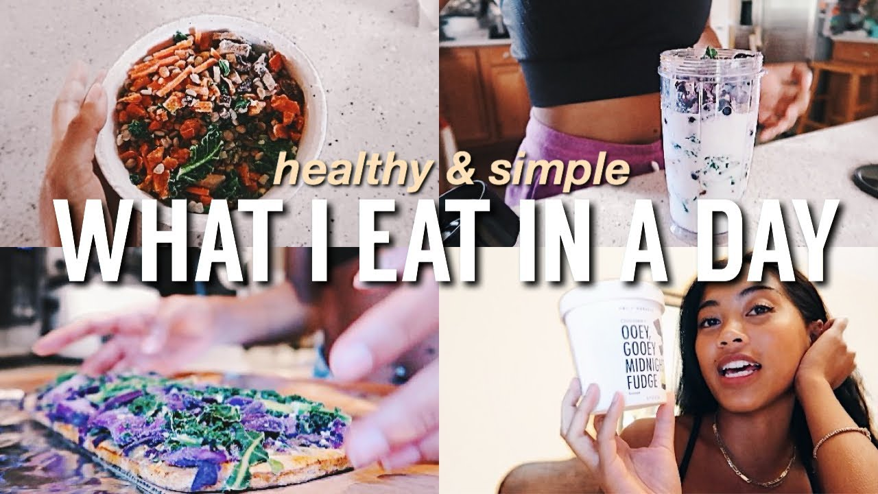 WHAT I EAT IN A DAY | Healthy & Simple ft. Daily Harvest