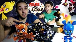 Папа РОБ и ЯРИК Распаковка игрушек Five Nights at Freddy s Видео для детей ПАПА ДОМА