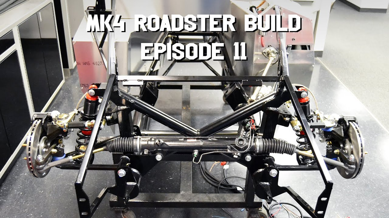 Factory Five Mk4 Build Episode 11: Getting Back to the Build