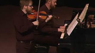 Grant Gilman, Violin - Mozart Sonata Excerpt