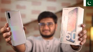 Samsung Galaxy A50 Unboxing & Price In Pakistan!