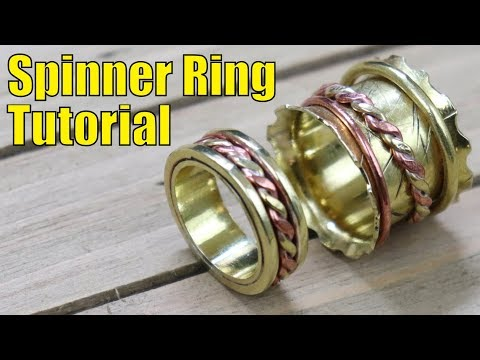How to make a spinner ring - (2 Different Styles)
