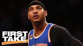 Stephen A. Calls Carmelo Not Reaching NBA Finals 'A Damn Shame' | First Take | ESPN