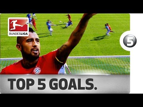 Arturo Vidal - Top 5 Goals - Updated