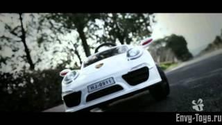 Детский электромобиль Porsche e911kx(Купить - http://envy-toys.ru/products/porsche-e911kx Оригинальный дизайн в стиле автомобиля Porsche. От этой машины нельзя оторват..., 2015-11-11T14:23:03.000Z)