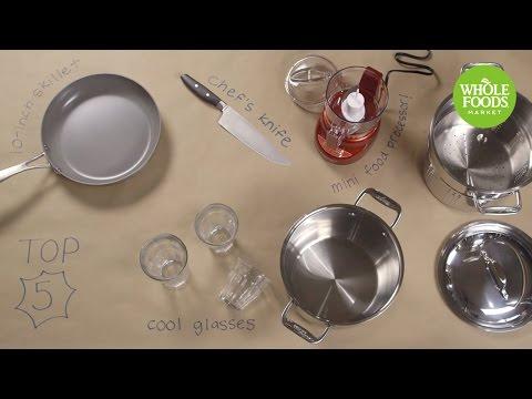 Top 5 Kitchen Essentials l Whole Foods Market + Sur La Table