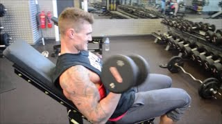 Biceps Training with Dickerson Ross