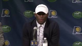 Highlights: victor oladipo indiana pacers introductory press conference