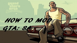 HOW TO MOD Grand Theft Auto: San Andreas 2017 ON STEAM - Tutorial